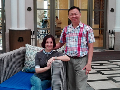 Ms. Ho Foong Heng and Mr. Tan Yen Yeow